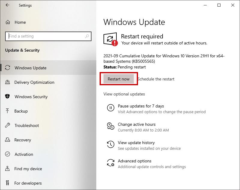 windows 10 update drivers